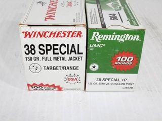 1 Box Remington 38 Special Hollow Points 1 Box Win