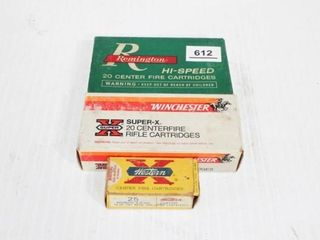 Remington 30 06   16 Rounds  Winchester 32   19