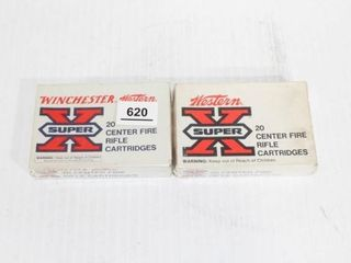 2 Boxes Winchester Super X 30 06 180 Gr