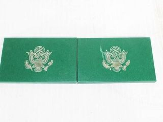2   United States Proof Sets 1994   1995
