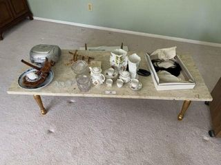 Coffee Table and Miscellaneous Items