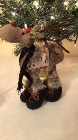 Moose Christmas Decor