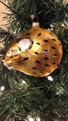 Jaguar Ornament