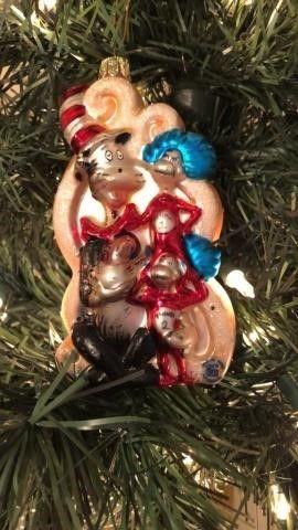 Dr. Seuss Ornament