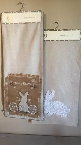 (2) ?The Prairie? Easter Table Runners