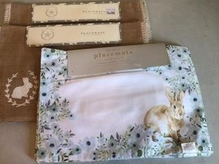 (3) Sets of Easter Placemats