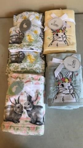 Assortment of Easter Towels