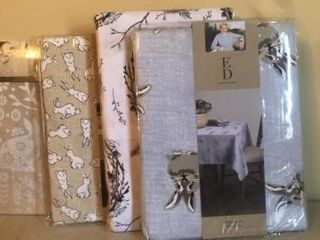 (4) Easter Table Cloths