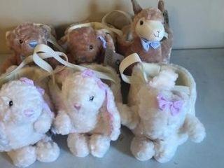 (6) Pet Easter Baskets