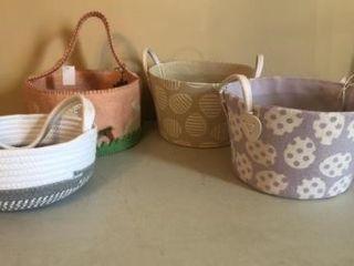 (4) Easter baskets