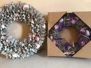 (2) Easter Wreaths