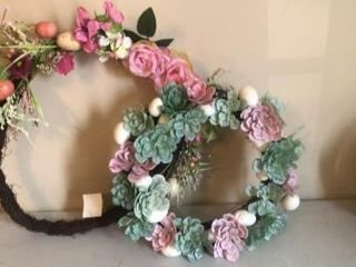 (2) Spring time wreaths