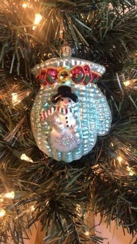 Radko ?Wooly Mitten? Ornament