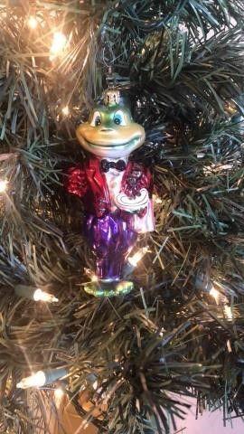 Radko ?Maitre Green? Ornament