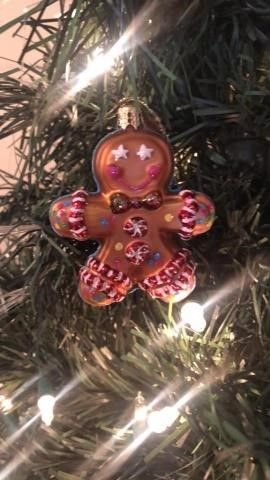 Radko ?Ginger Man and John? Ornament