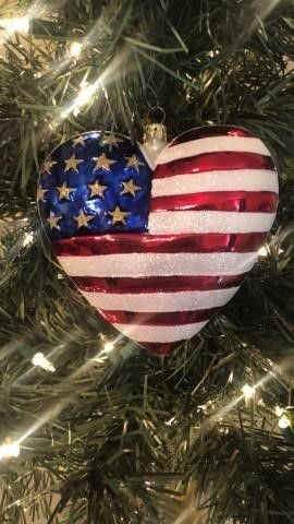 Radko ?Brave Heart? Ornament