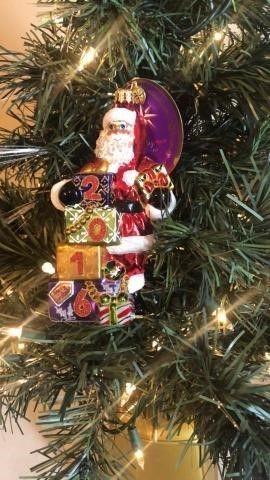 Radko ?Dillard?s Dated Delight? Ornament