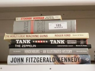War & World Events books (Hindenburg, JFK...)
