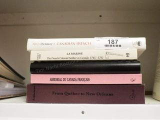 Canadian Books: LaMarine, French Forts, ...