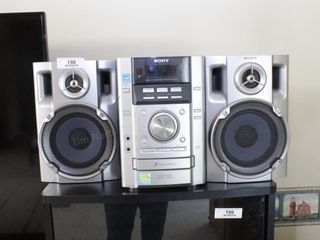 Sony Boombox w/ 3 disc cd changer