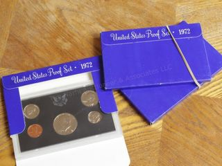 3pcs. Proof Set 1972