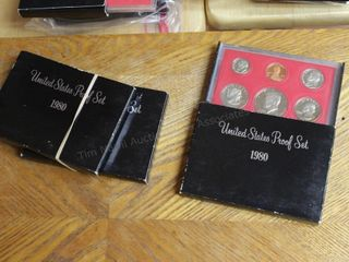 3pcs. Proof set 1980