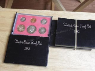 3pcs. Proof Set 1982