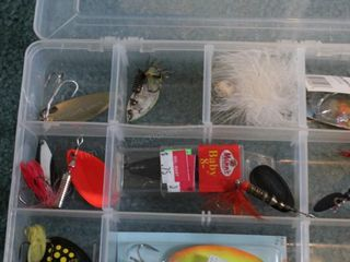 Fishing Lures Spoons (Mepps, Cyclops, Rattlin, ...