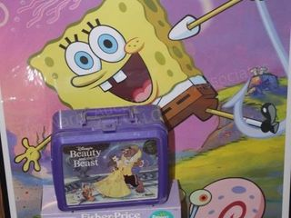 Spongebob, beauty and the beat & fishbowl
