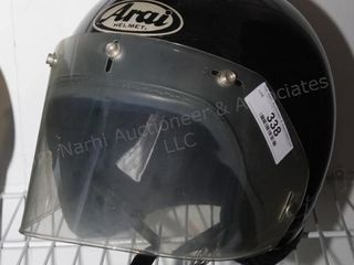 Arial Size M Motorcycle helmet w/ shield