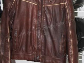 Brown Steinmark Motorcycle jacket (size 38)