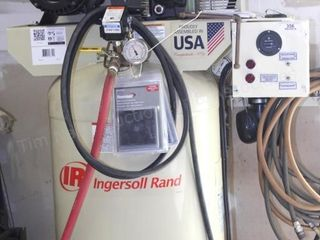 Ingersoll Rand 60gal upright air compressor
