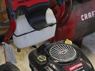 Craftsman 2500PSI power washer