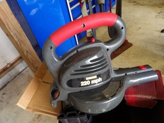 Craftsman Leaf Blower 22mph 110v very clean