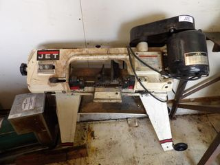Jet cut-off band saw 1/2hp