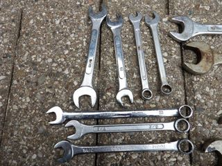 assorted wrenches sae &metric