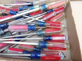 Craftsman flathead screwdrivers