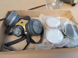 Respirator face mask & filters