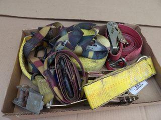 "1"" & 3"" tie down straps"