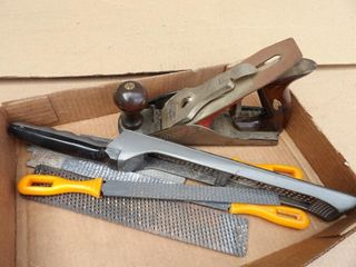 Craftsman plane & Stanley rasps