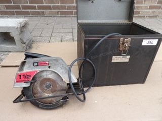 Sears Craftsman circular saw & case