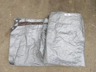 Large Grey Tarp 8x10'