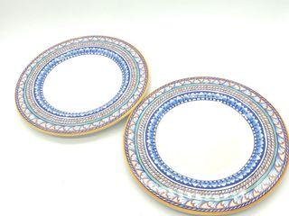 """(2) Williams Sonoma Plates 12"""""""