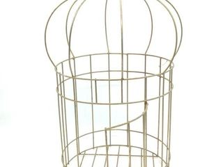 "Wire Frame Decorative Cage 24"" Tall"