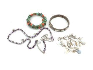 Charm Necklace & Bracelets