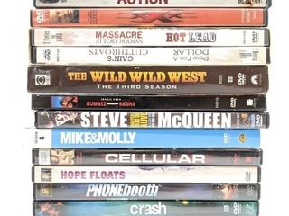 DVDs - Brooklyn's Finest, The Wild Wild West,