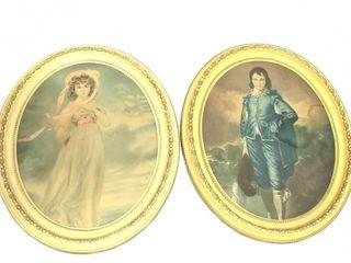 (2) Decorative Prints in Frames
