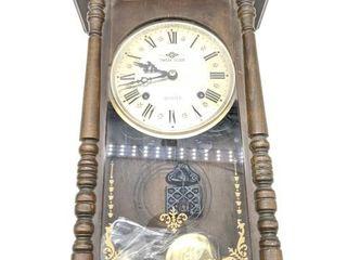 "Takeda 30 Day Wall Clock 18"" x 11.5"""