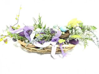 """Floral Center Piece and Basket 9"""" x 22"""""""