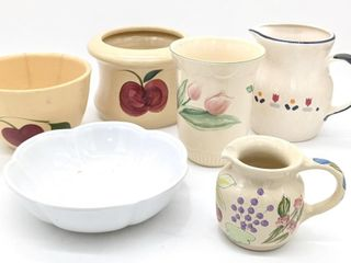 Ceramic Pitches, Bowls and Containers